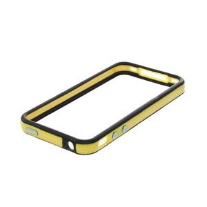 Купить Двухцветный бампер Apple для iPhone 4/4S Желтый/черный