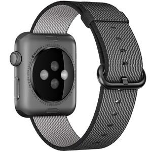 Купить Нейлоновый ремешок Woven Nylon Black для Apple Watch 38mm Series 1/2/3
