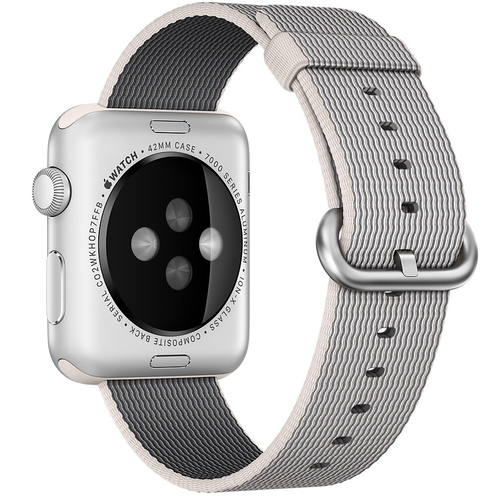 Нейлоновый ремешок Woven Nylon Pearl для Apple Watch 38mm Series 1/2