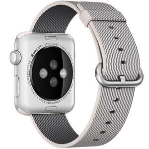 Купить Нейлоновый ремешок Woven Nylon Pearl для Apple Watch 38mm Series 1/2/3