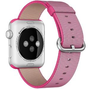 Купить Нейлоновый ремешок Woven Nylon Pink для Apple Watch 38mm Series 1/2/3