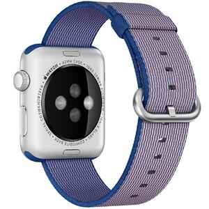 Купить Нейлоновый ремешок Woven Nylon Royal Blue для Apple Watch 38mm Series 1/2