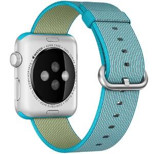 Купить Нейлоновый ремешок Woven Nylon Scuba Blue для Apple Watch 38mm Series 1/2/3