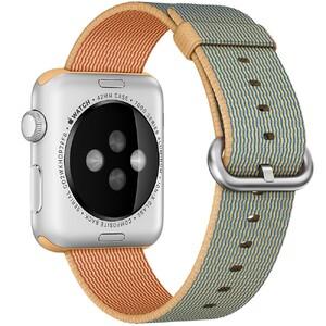 Купить Нейлоновый ремешок Woven Nylon Gold/Royal Blue для Apple Watch 42mm Series 1/2