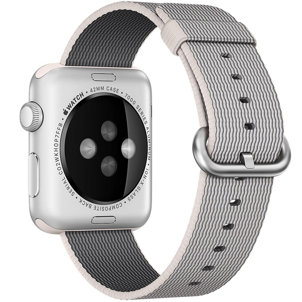 Нейлоновый ремешок Woven Nylon Pearl для Apple Watch 42mm Series 1/2