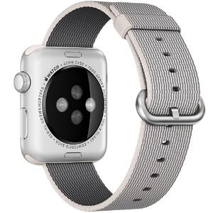 Купить Нейлоновый ремешок Woven Nylon Pearl для Apple Watch 42mm Series 1/2