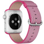 Нейлоновый ремешок Woven Nylon Pink для Apple Watch 42mm Series 1/2