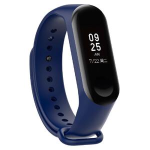 Купить Силиконовый ремешок Xiaomi Mi Band 3/4 Blue для фитнес-браслета