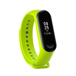Купить Силиконовый ремешок для фитнес-браслета Xiaomi Mi Band 3 Lime