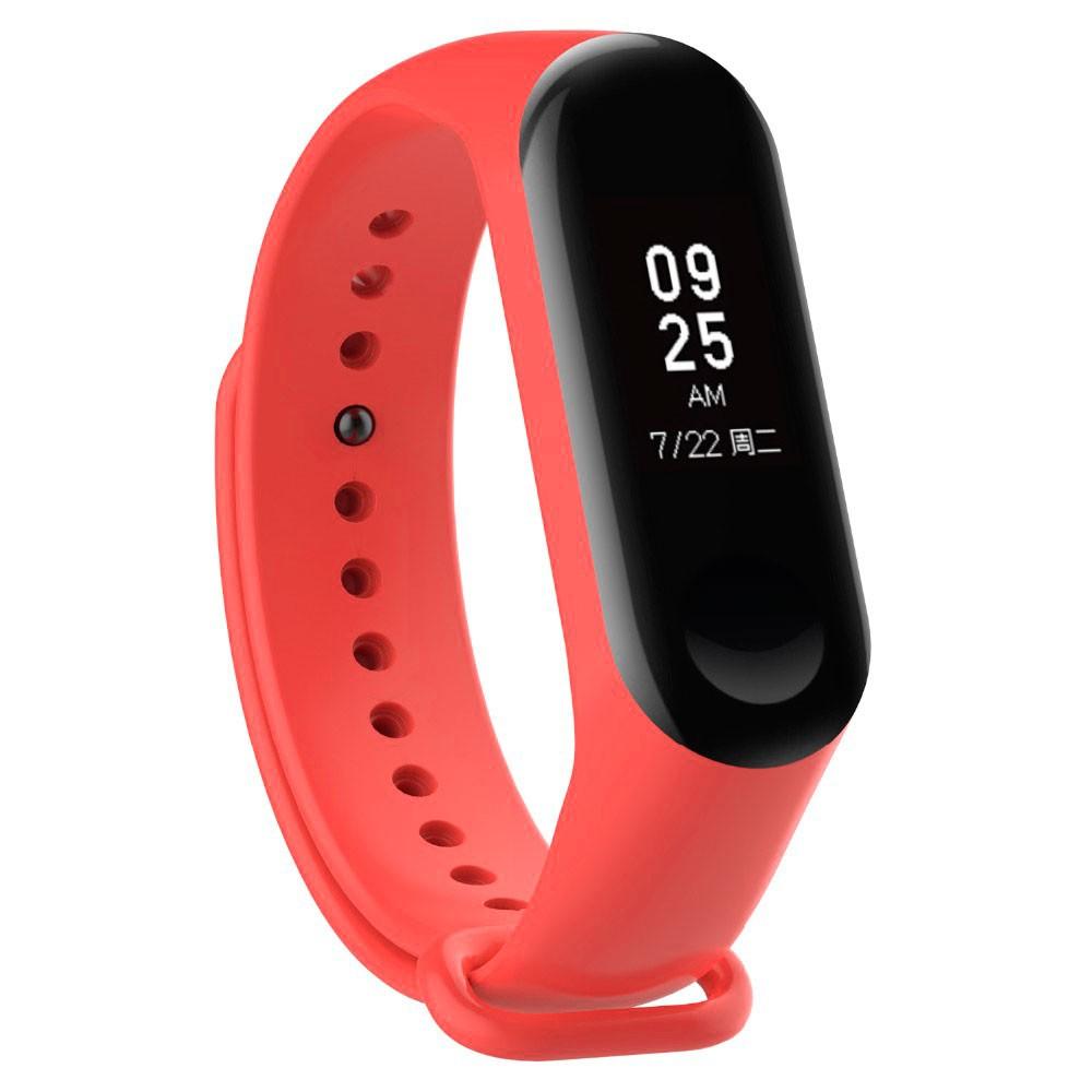 Купить Силиконовый ремешок Xiaomi Mi Band 3 | 4 Orange для фитнес-браслета