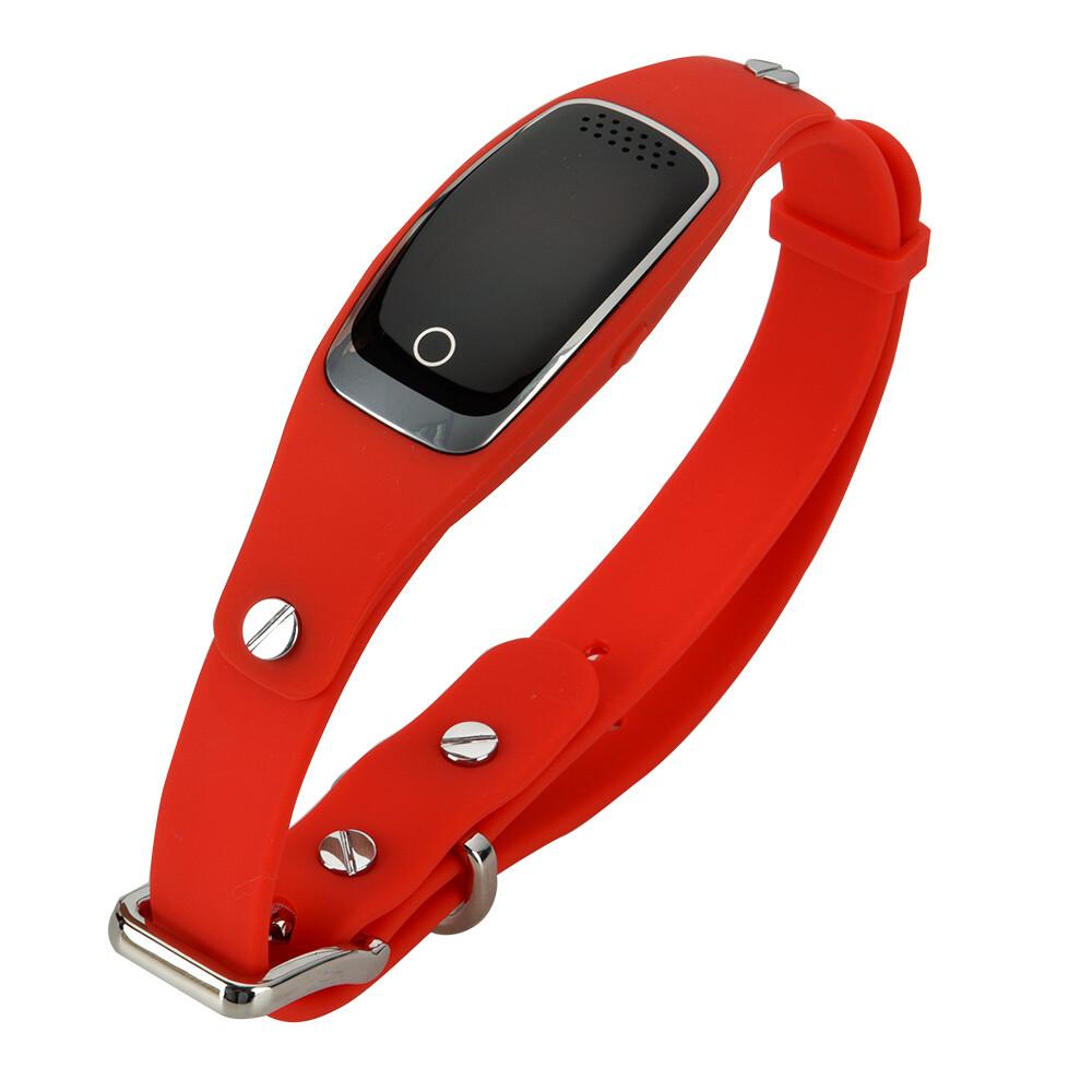 GPS ошейник-трекер BARTUN Mini Pet Red для домашних питомцев