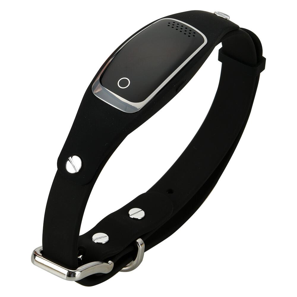 GPS ошейник-трекер BARTUN Mini Pet Black для домашних питомцев