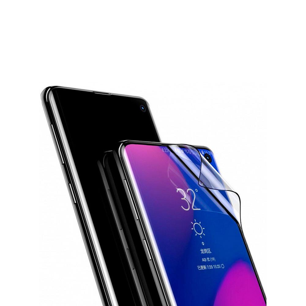 Защитная пленка Baseus 0.15mm Full Screen Curved Edge для Samsung Galaxy S10 (2 пленки)