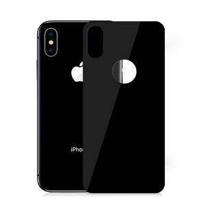 Купить Защитное стекло на заднюю панель Baseus 0.3mm 3D Full Tempered Glass Black для iPhone XS Max