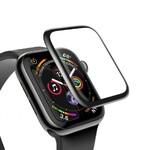 Защитное стекло Baseus 0.3mm Full Screen Curved Tempered Glass Black для Apple Watch 40mm Series 4