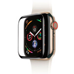 Защитное стекло Baseus 0.3mm Full Screen Curved Tempered Glass Black для Apple Watch 44mm Series 4
