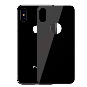 Купить Защитное стекло на заднюю панель Baseus 0.3mm Full Tempered Glass Black для iPhone X/XS