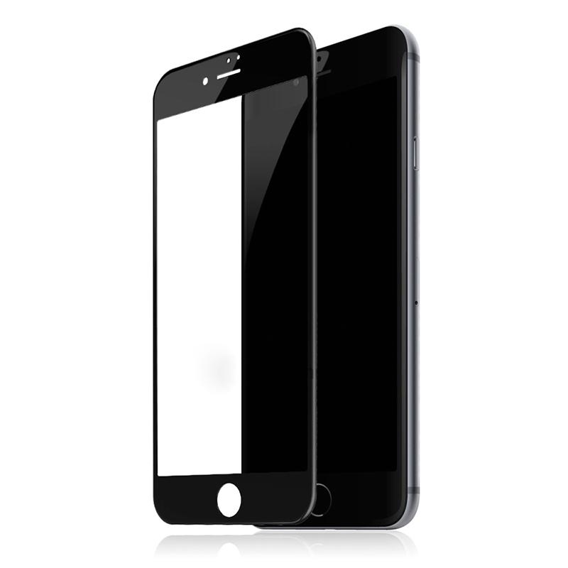 Купить Защитное стекло Baseus Silk-Screen 3D Arc Black для iPhone 7 Plus | 8 Plus