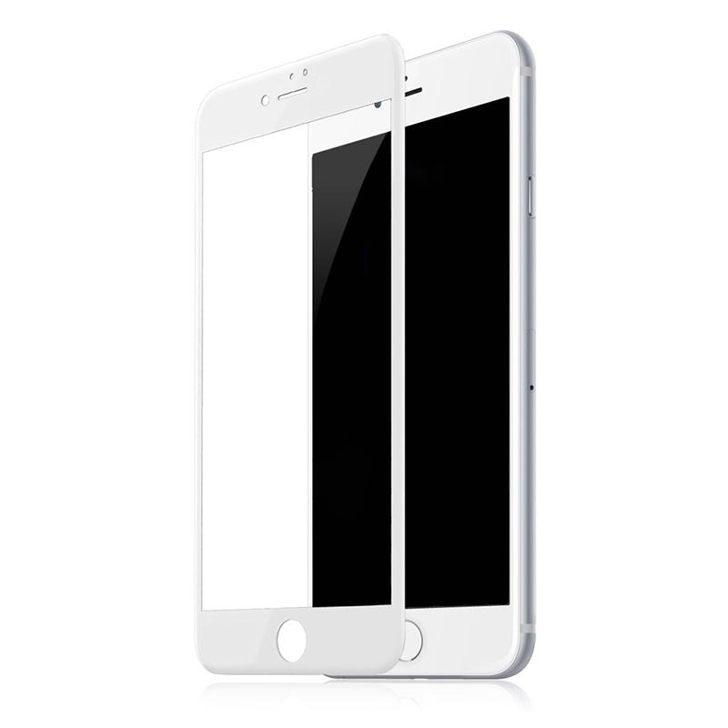 Купить Защитное стекло Baseus Silk-Screen 3D Arc White для iPhone 7 Plus | 8 Plus