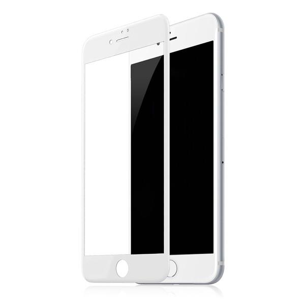 Защитное стекло Baseus Silk-Screen 3D Arc White для iPhone 7 Plus   8 Plus