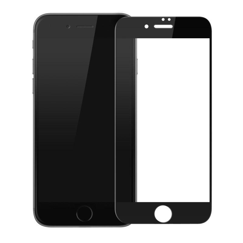 Купить Защитное стекло Baseus Silk-Screen 3D Arc Black для iPhone 7 | 8 | SE 2020