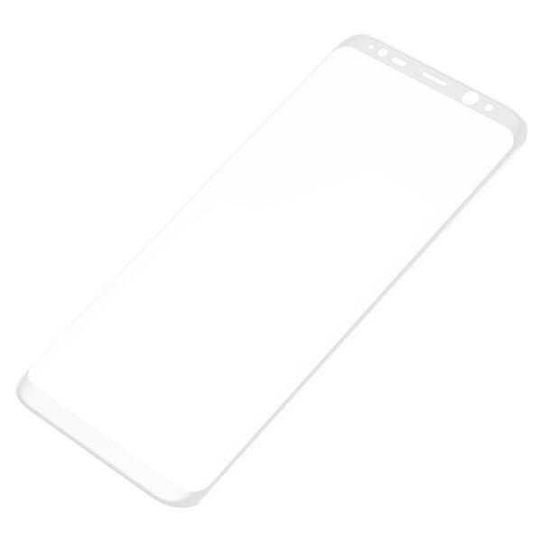 Защитное стекло Baseus 3D Arc White для Samsung Galaxy S8