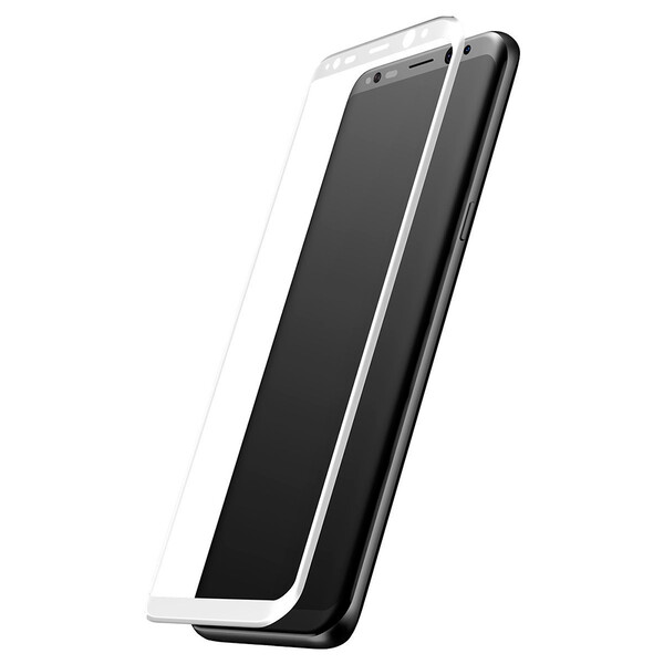 Защитное стекло Baseus 3D Arc White для Samsung Galaxy S8 Plus