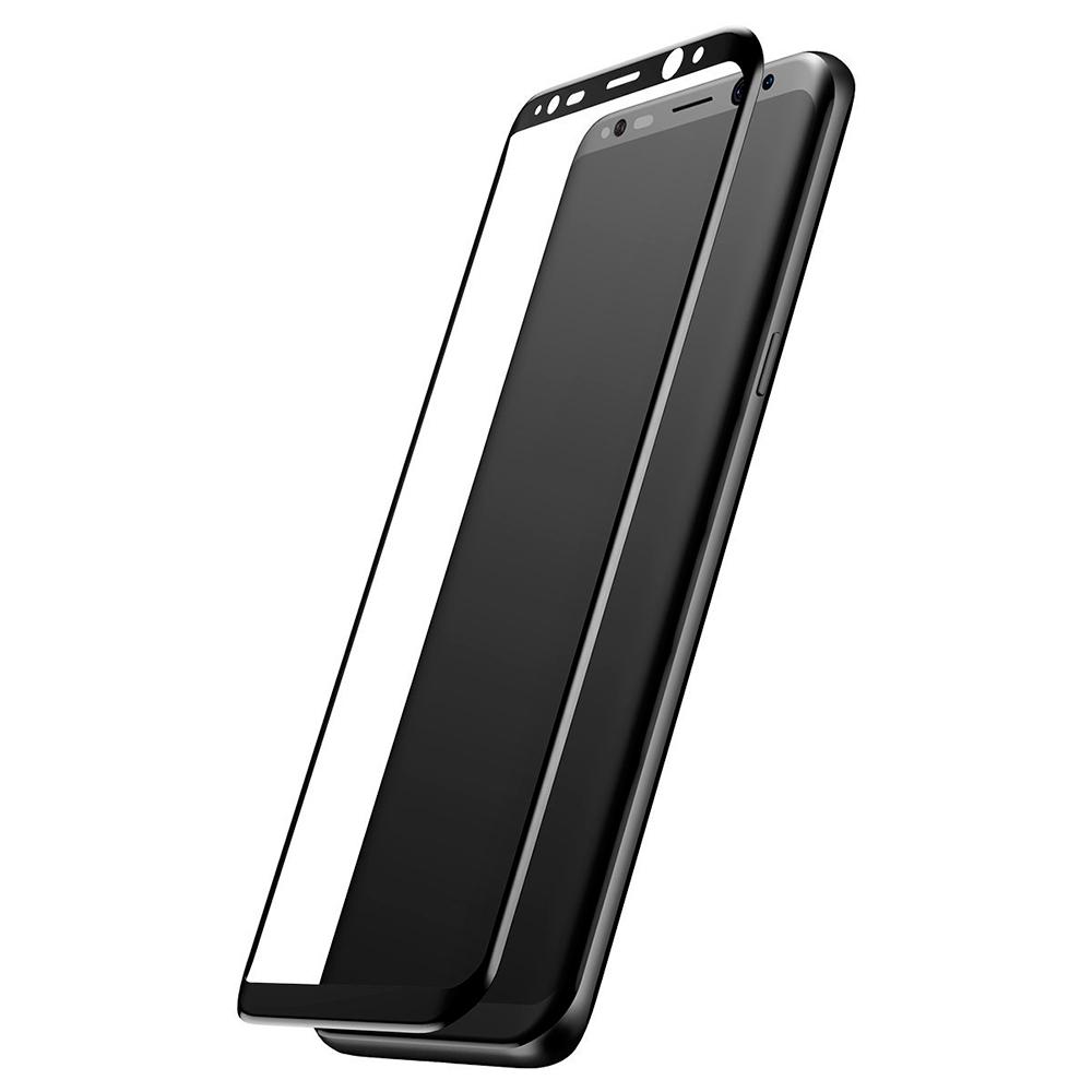 Купить Защитное стекло Baseus 3D Arc Black для Samsung Galaxy S8 Plus