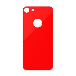 Купить Защитное стекло на заднюю панель Baseus 3D Silk-Screen Back Glass Film Red для iPhone 7/8