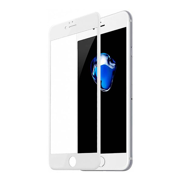 Полноэкранное защитное стекло Baseus Arc-Surface 0.3mm White для iPhone 6 | 6s