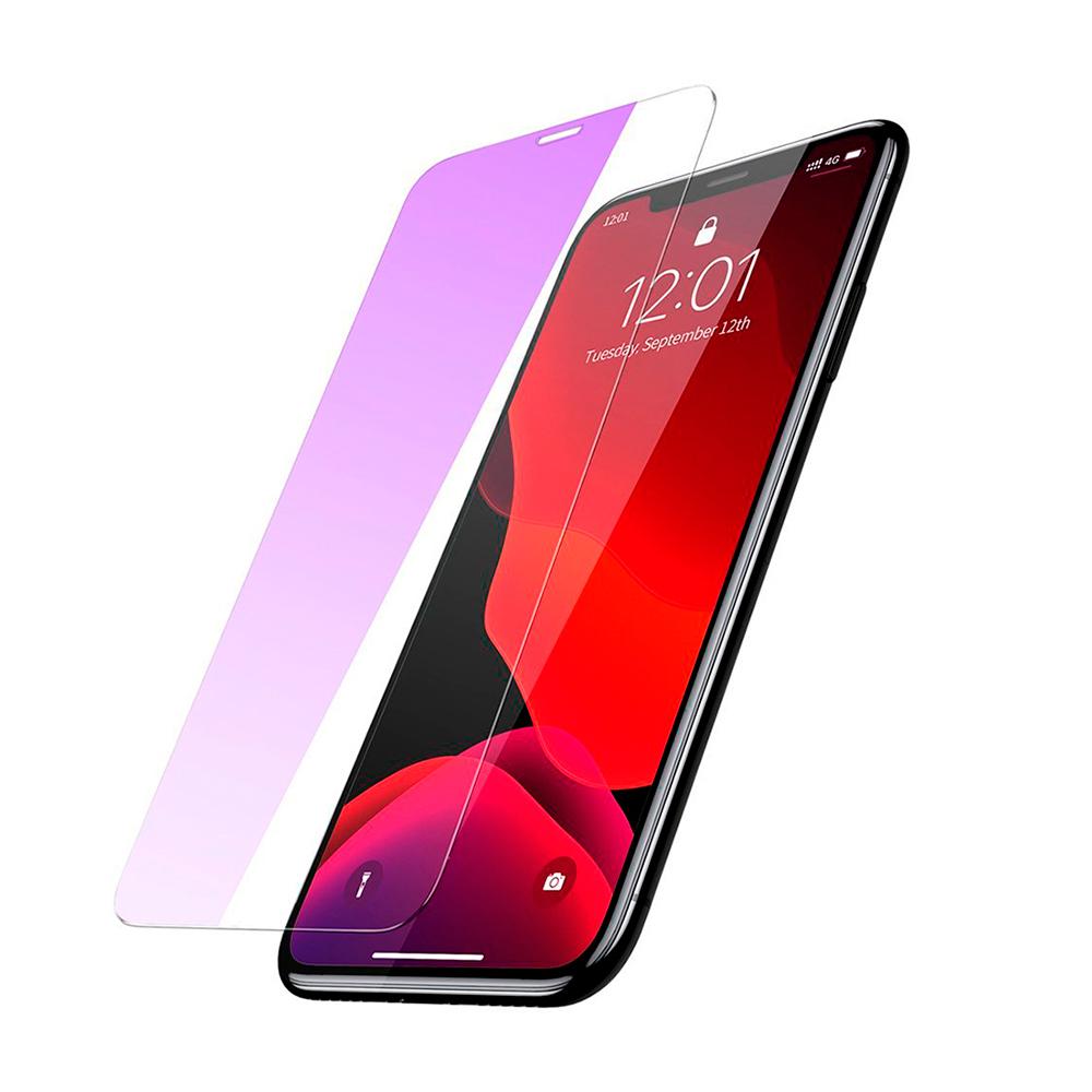 Купить Защитное стекло Baseus Anti-Bluelight Tempered Glass 0.15mm Transparent для iPhone 11 Pro (2 Pack)