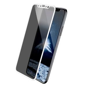 Купить Защитное стекло анти-шпион Baseus Anti-Peeping Glass 0.23mm White для iPhone X