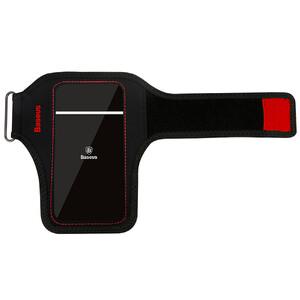 Купить Спортивный чехол на руку Baseus Flexible Wristband Red для телефонов до 5''