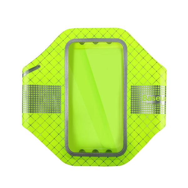 Тонкий чехол на руку Baseus Sports Armband Green для iPhone 7   8   SE 2020   6s   6
