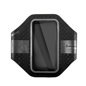 Купить Тонкий чехол на руку Baseus Sports Armband Black для iPhone 7/6s/6