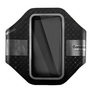 Купить Тонкий чехол на руку Baseus Sports Armband Black для iPhone 7 Plus & 6s/6 Plus