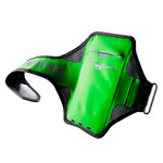 Спортивный чехол Baseus Move Armband Black/Green для телефонов до 5.8""