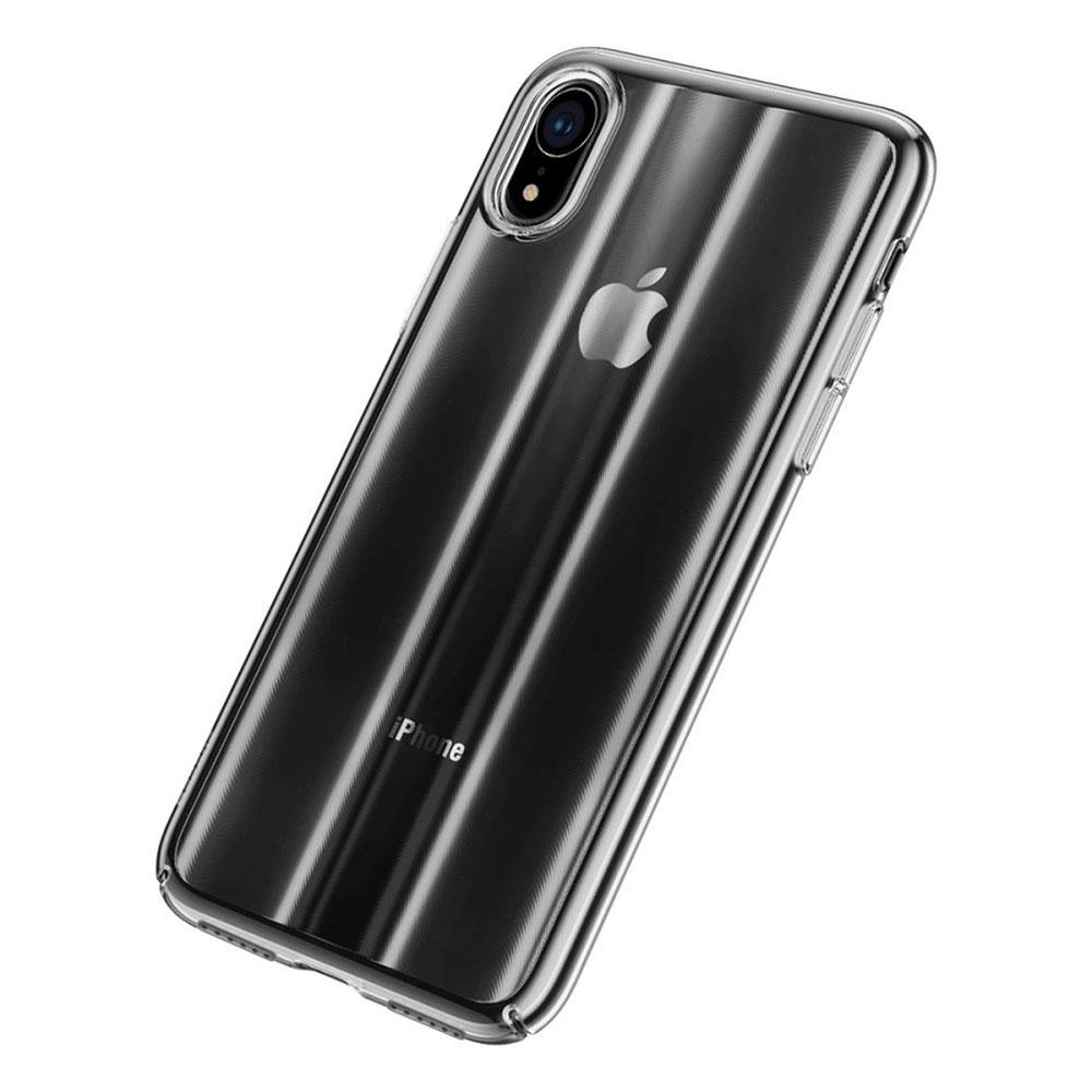 Купить Чехол Baseus Aurora Series Transparent Black для iPhone XR