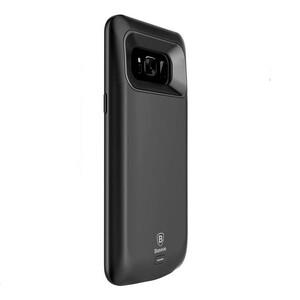 Купить Чехол-аккумулятор Baseus Geshion Backpack 5500mAh Black для Samsung Galaxy S8 Plus