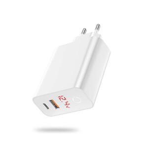 Купить Быстрое зарядное устройство Baseus USB Type-C PD + USB 45W
