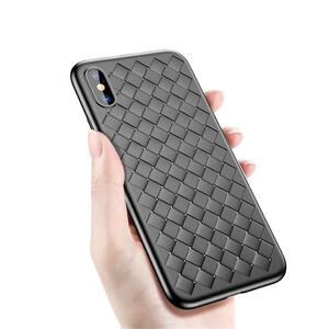 Купить TPU чехол Baseus BV Weaving Case Black для iPhone X/XS