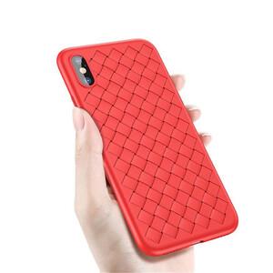 Купить TPU чехол Baseus BV Weaving Case Red для iPhone X/XS