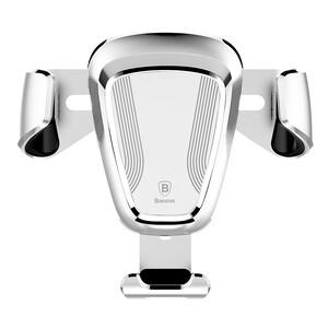 Купить Автодержатель Baseus Gravity Car Mount White для смартфонов
