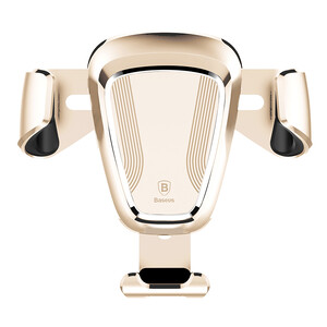 Купить Автодержатель Baseus Gravity Car Mount Gold для смартфонов