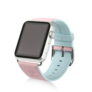 Купить Ремешок Baseus Colorful Pink/Blue для Apple Watch 38mm Series 1/2