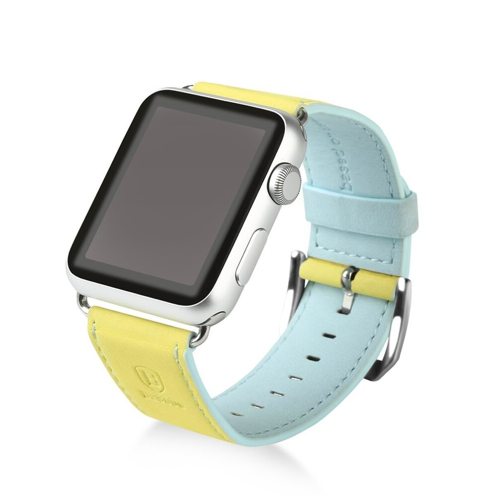Ремешок Baseus Colorful Yellow/Blue для Apple Watch 38mm Series 1/2