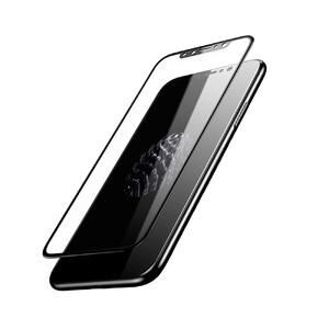 Купить Глянцевое полноэкранное защитное стекло Baseus 3D Silk-Screen 0.23mm Black для iPhone X