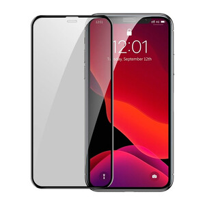 Купить Защитное стекло Baseus Curved Privacy Tempered Glass Black для iPhone 11/XR