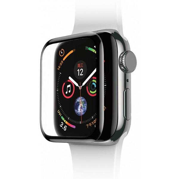 Защитное стекло Baseus Curved Tempered Glass Black для Apple Watch 38mm Series 3 | 2 | 1