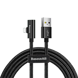 Купить Кабель-переходник Baseus Entertaining Audio Cable Lightning to USB 1m Black